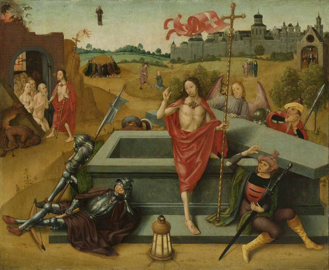 Resurrection of Christ, circle of Master of the Amsterdam Death of the Virgin, c. 1485 – c. 1500